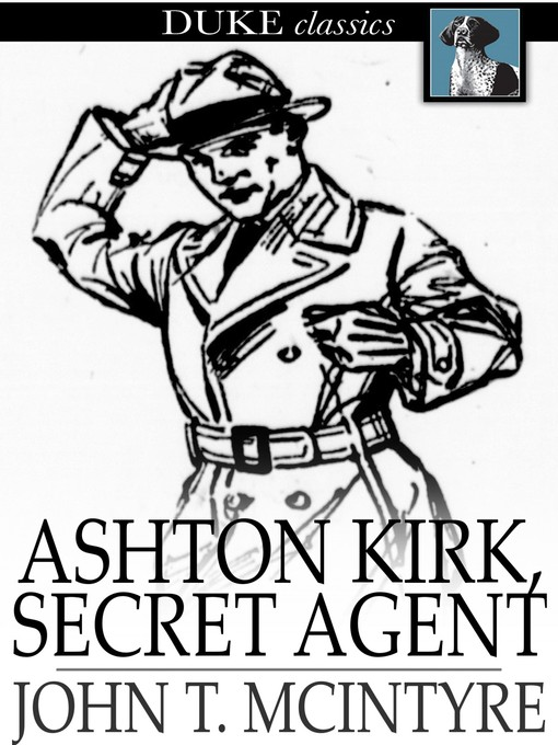 תמונה של  Ashton Kirk, Secret Agent