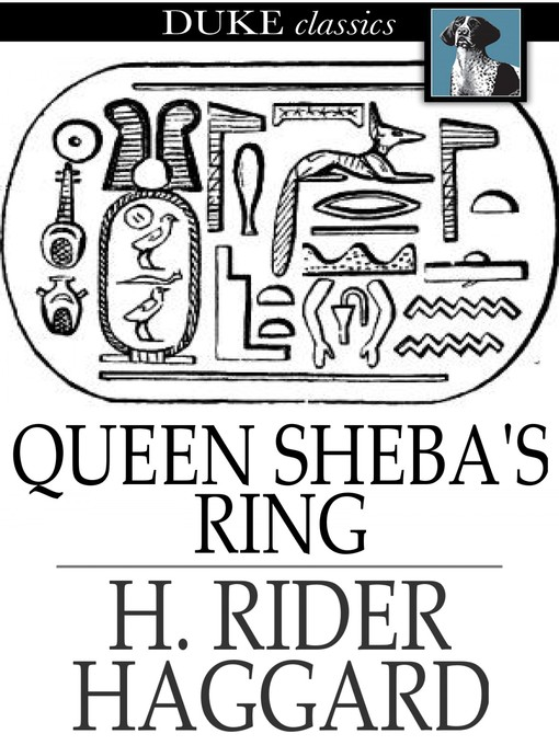 Cover of Queen Sheba's Ring