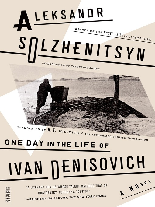 one day in the life of ivan denisovich thesis Join now log in home literature essays one day in the life of ivan denisovich three thinkers and the divine one thesis using irony and one day in the life of.