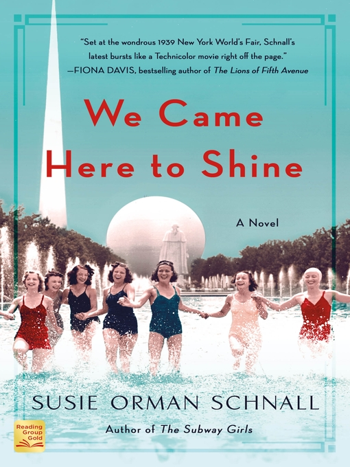 Title details for We Came Here to Shine by Susie Orman Schnall - Wait list