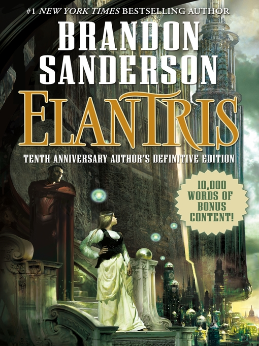 Title details for Elantris by Brandon Sanderson - Wait list