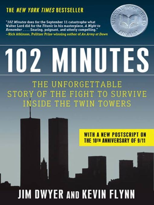 Title details for 102 Minutes by Jim Dwyer - Wait list
