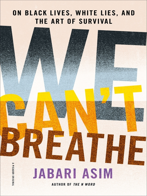 Title details for We Can't Breathe by Jabari Asim - Available