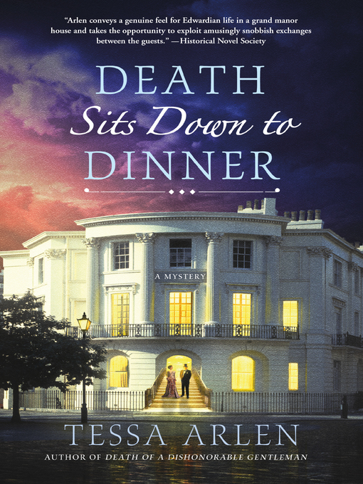 Title details for Death Sits Down to Dinner by Tessa Arlen - Available
