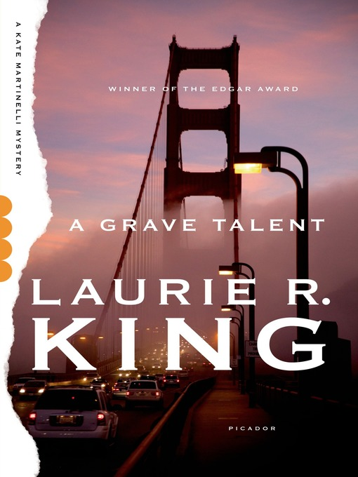 Title details for A Grave Talent by Laurie R. King - Available