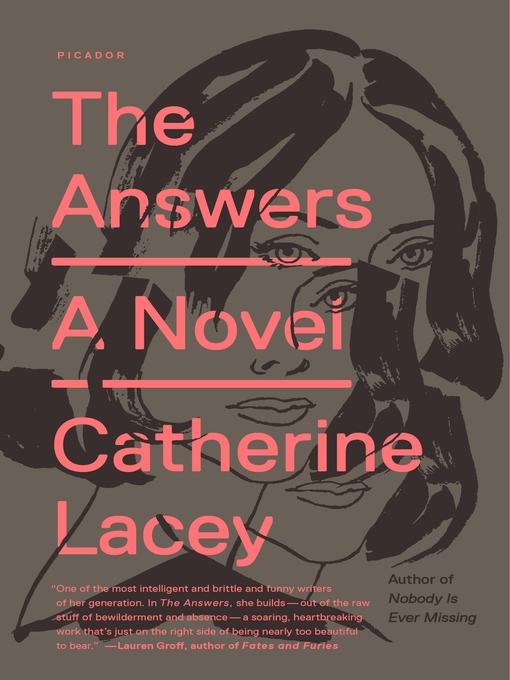 Title details for The Answers by Catherine Lacey - Wait list