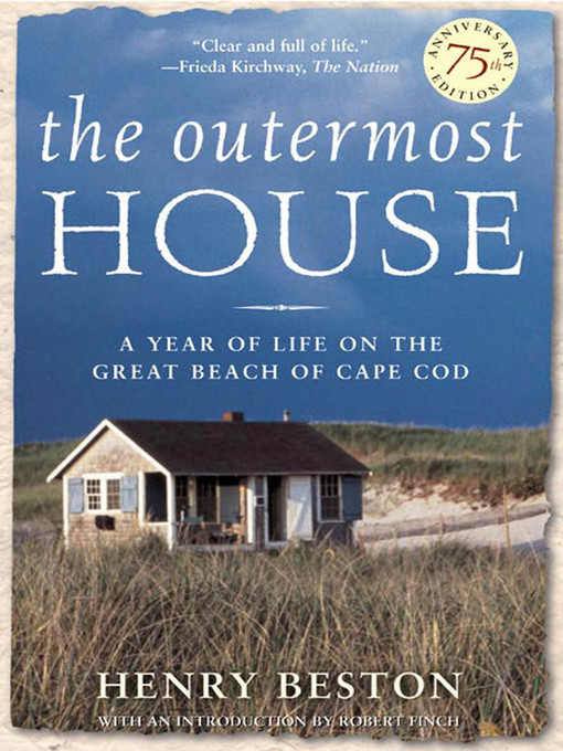Title details for The Outermost House by Henry Beston - Available