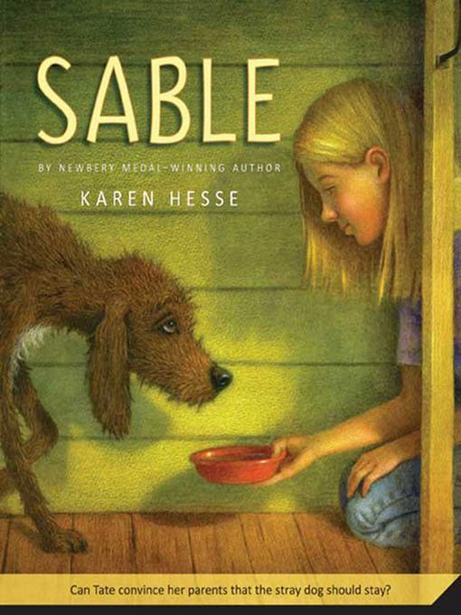 Title details for Sable by Karen Hesse - Wait list