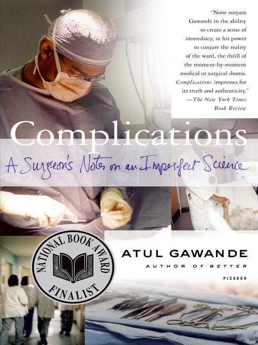 Title details for Complications by Atul Gawande - Available