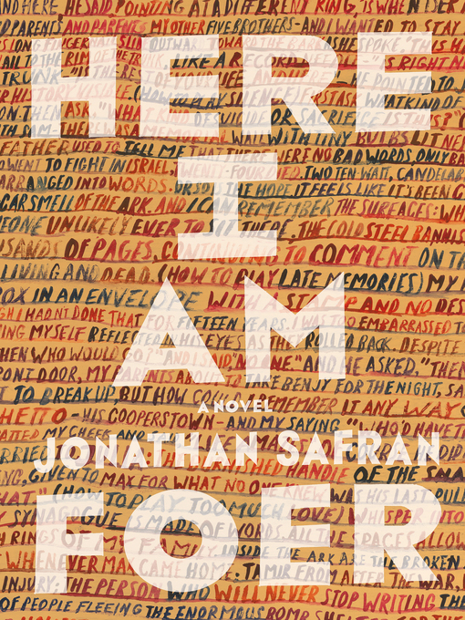 Title details for Here I Am by Jonathan Safran Foer - Available