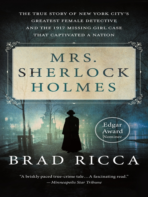Title details for Mrs. Sherlock Holmes by Brad Ricca - Wait list
