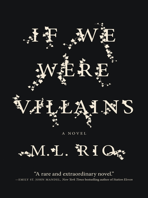 Title details for If We Were Villains by M. L. Rio - Wait list