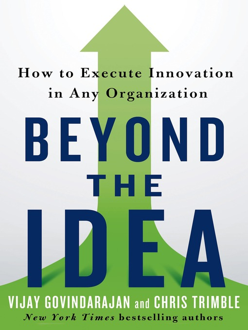 Beyond the Idea How to Execute Innovation in Any Organization