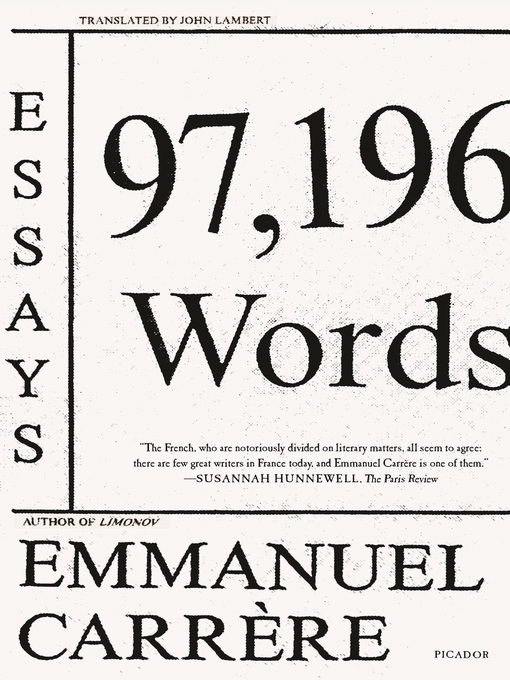 Title details for 97,196 Words by John Lambert - Available