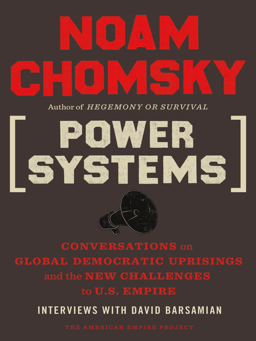 Title details for Power Systems by Noam Chomsky - Available