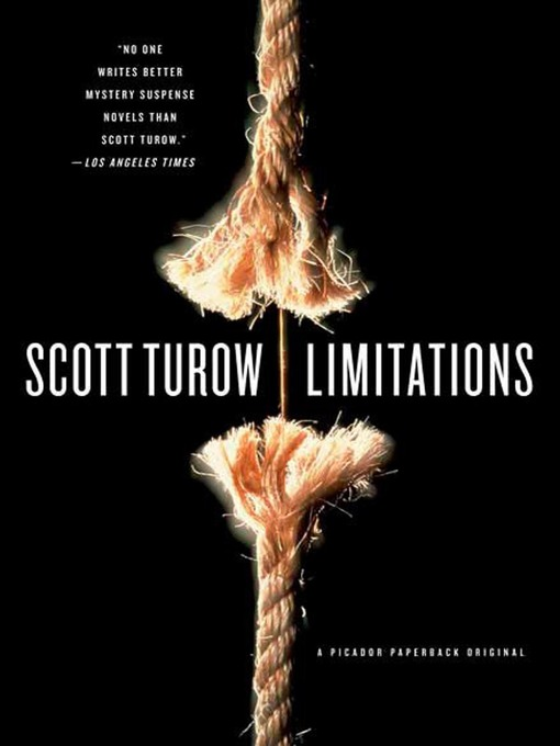 Title details for Limitations by Scott Turow - Wait list
