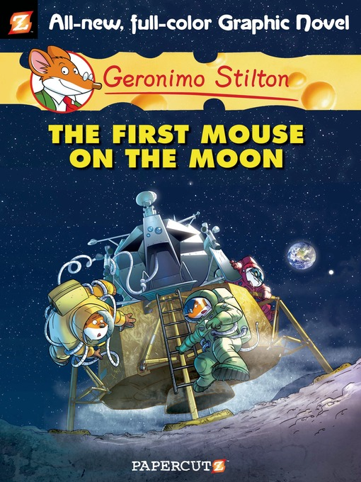 Cover image for The First Mouse on the Moon