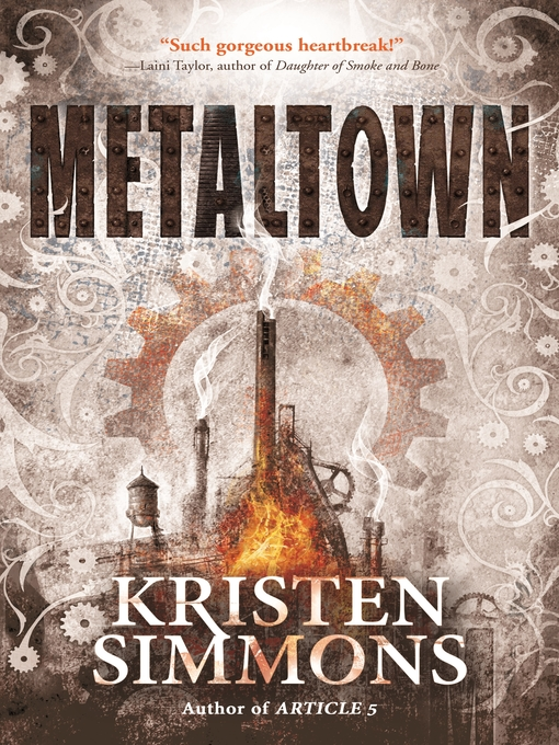 Title details for Metaltown by Kristen Simmons - Wait list