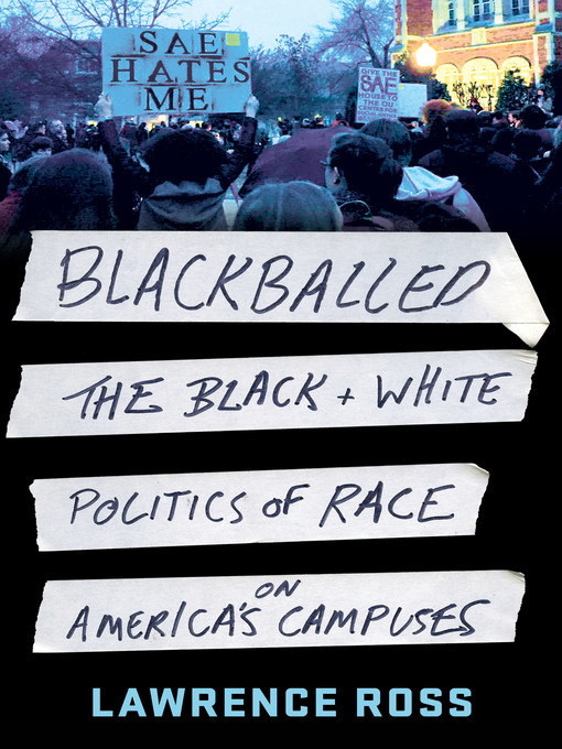 Title details for Blackballed by Lawrence Ross - Wait list