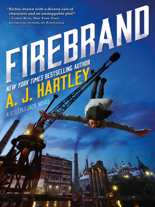 Title details for Firebrand by A. J. Hartley - Wait list