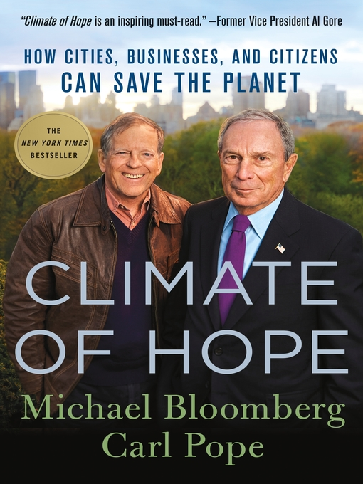 Title details for Climate of Hope by Michael Bloomberg - Wait list