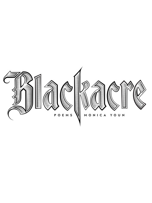Title details for Blackacre by Monica Youn - Wait list
