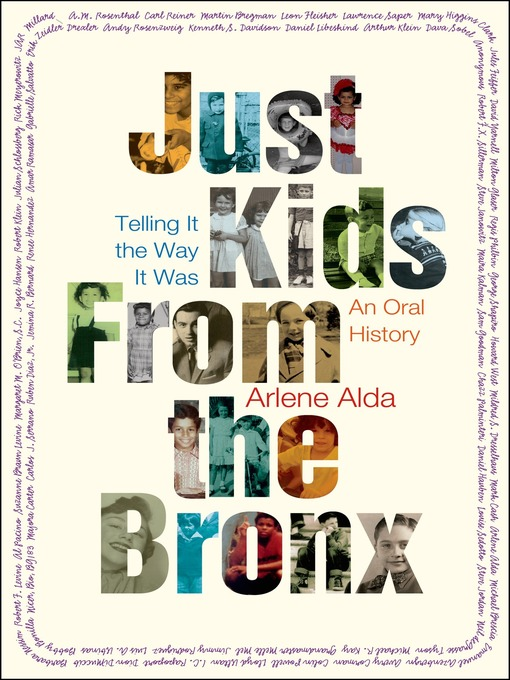 Title details for Just Kids from the Bronx by Arlene Alda - Available