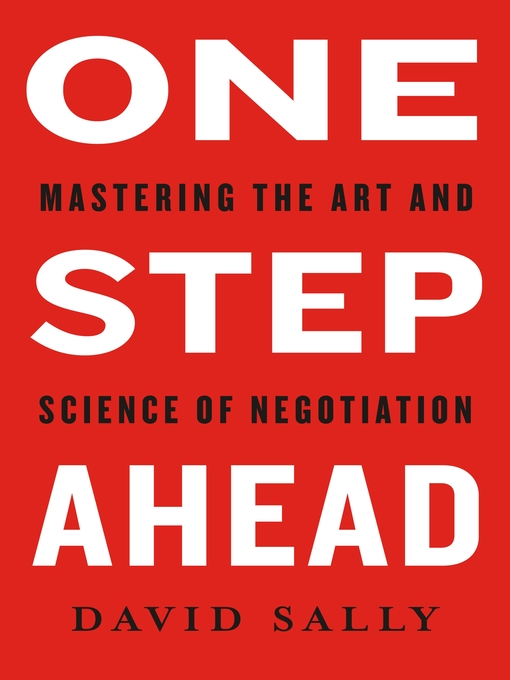 Title details for One Step Ahead by David Sally - Available