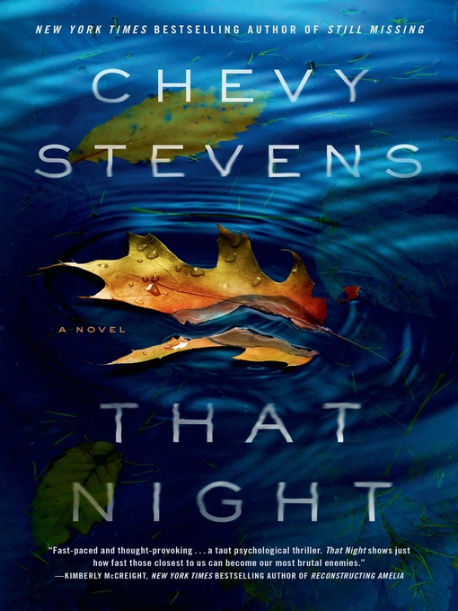 Title details for That Night by Chevy Stevens - Wait list