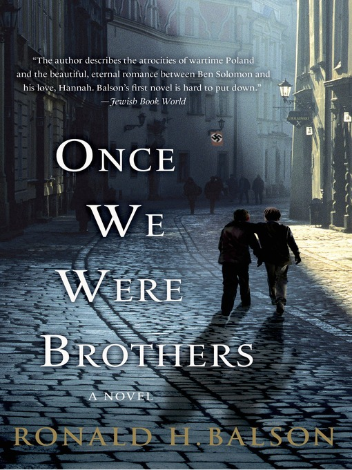 Title details for Once We Were Brothers by Ronald H. Balson - Wait list