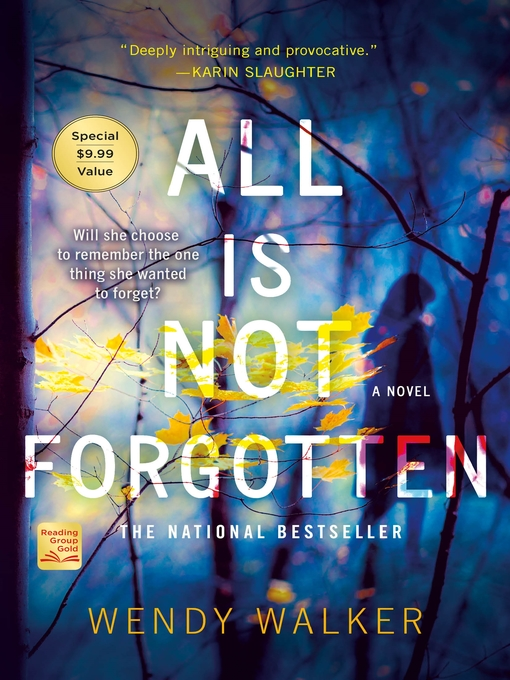 Title details for All Is Not Forgotten by Wendy Walker - Wait list