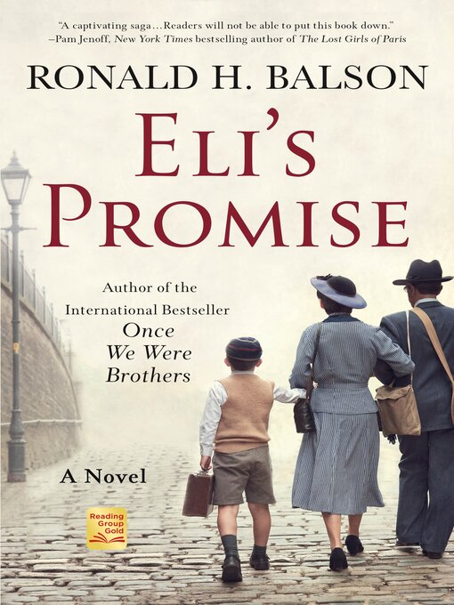 Title details for Eli's Promise by Ronald H. Balson - Available
