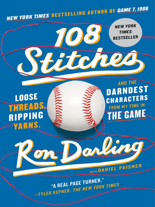 Title details for 108 Stitches by Ron Darling - Wait list