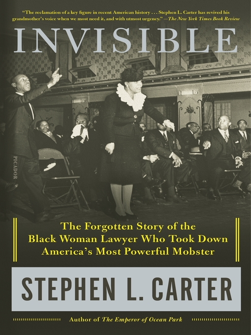 Title details for Invisible by Stephen L. Carter - Wait list