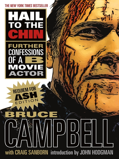 Title details for Hail to the Chin by Bruce Campbell - Wait list