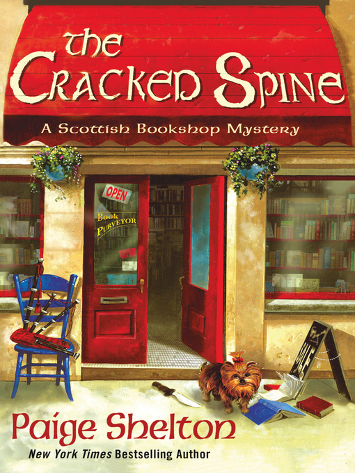 Title details for The Cracked Spine by Paige Shelton - Available
