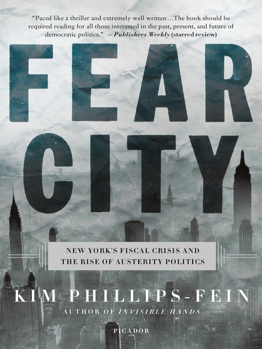 Title details for Fear City by Kim Phillips-Fein - Available