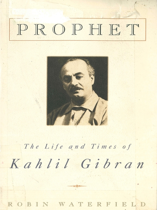 a biography of kahlil gibran a poet philosopher and an artist About kahlil gibran (1883-1931) a lebonese-american mystical poet, philosopher, artist, essayist and novelist, who became known as a man who 'transcended the barriers between east and west' with his eastern spirituality born in lebonon in 1883, he was one of the important arabic language authors of the time.