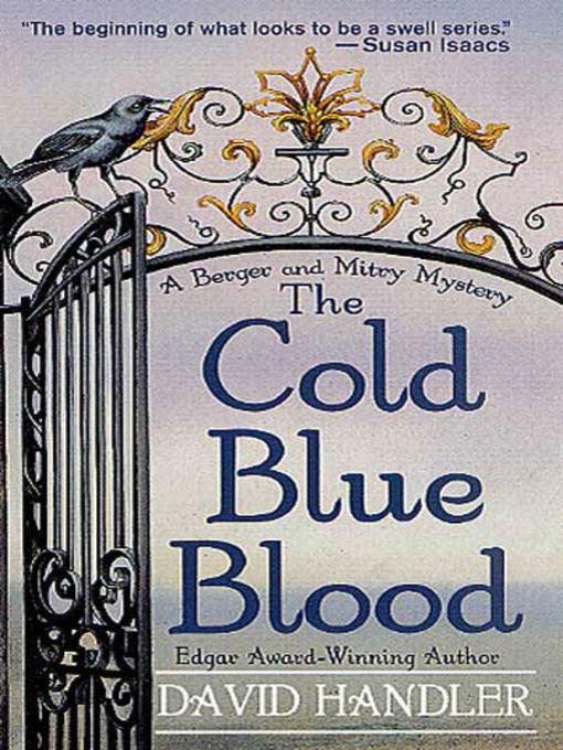 Title details for The Cold Blue Blood by David Handler - Wait list