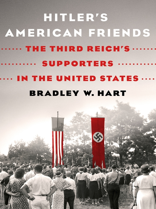 Cover of Hitler's American Friends