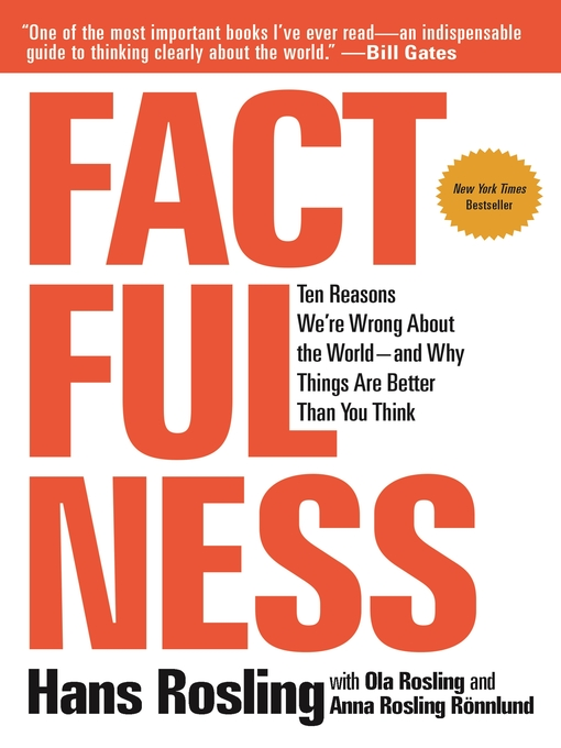 Title details for Factfulness by Hans Rosling - Wait list