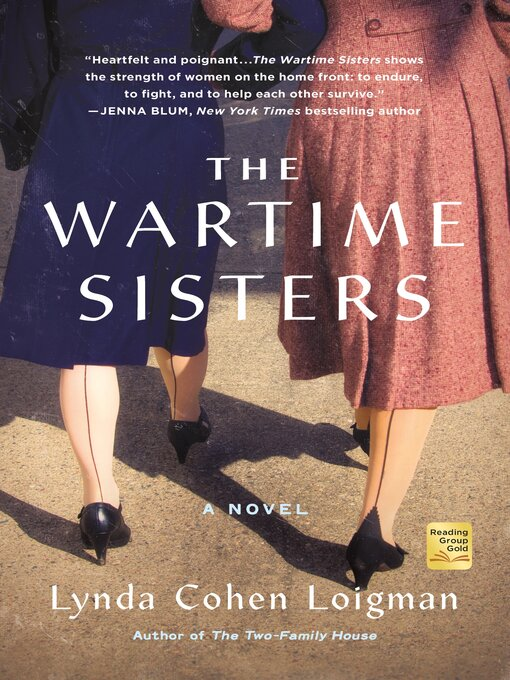 Title details for The Wartime Sisters by Lynda Cohen Loigman - Wait list