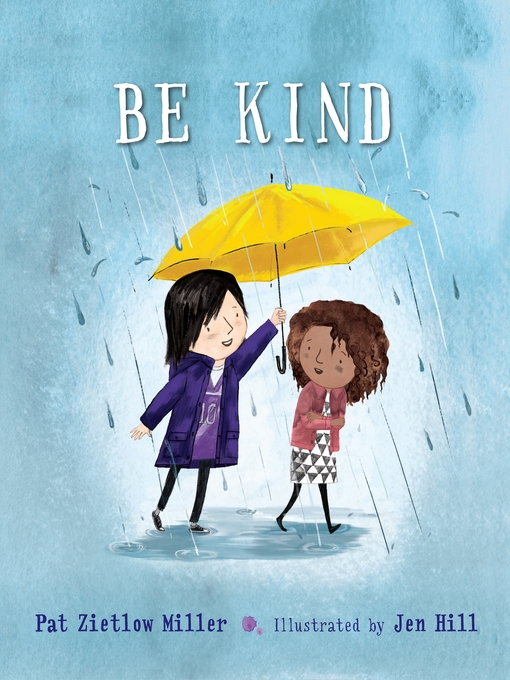 Book cover of Be kind