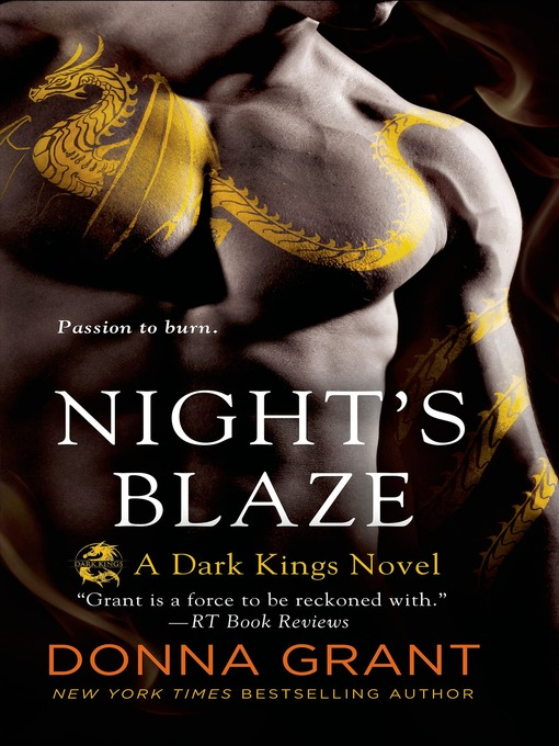 Title details for Night's Blaze by Donna Grant - Wait list