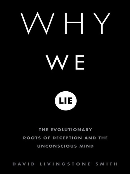 why we lie Behavioral economist and psychologist dan ariely's new book, the (honest) truth about dishonesty, explores some of the surprising reasons we lie to each other, and ourselves.