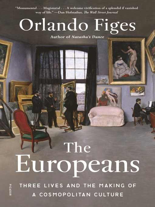 Title details for The Europeans by Orlando Figes - Wait list