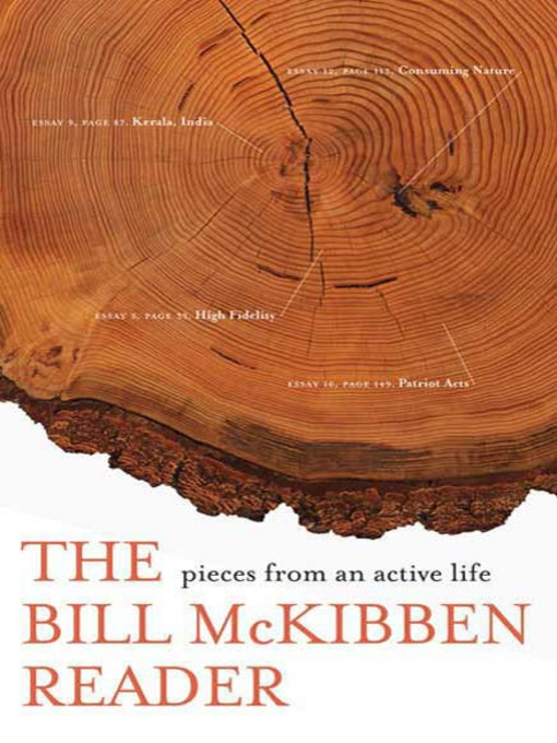 Title details for The Bill McKibben Reader by Bill McKibben - Wait list