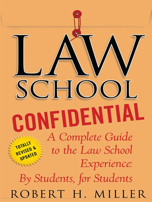 Title details for Law School Confidential by Robert H. Miller - Wait list