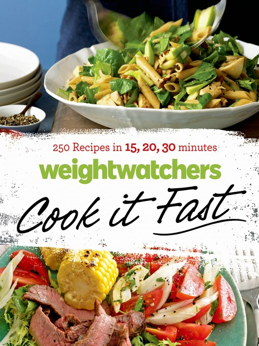 Title details for Weight Watchers Cook it Fast by Weight Watchers - Wait list