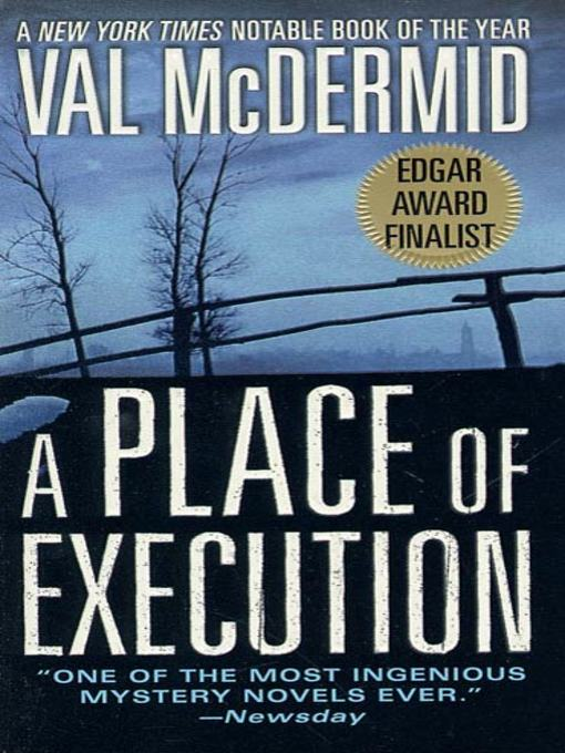 a place of executionby val mcdermid pdf